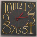Welsh slate clock