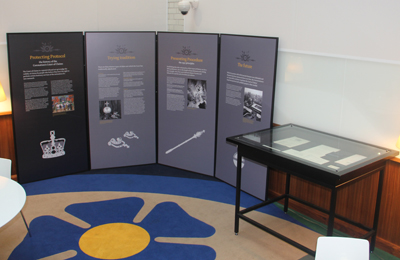 The Court of Claims exhibition, on show until Spring 2013