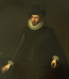 Sir Baptist Hicks, attributed to Paul van Somer